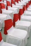 De stoelen van de gebeurtenis Stock Afbeeldingen