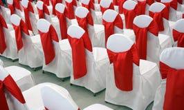 De stoelen van de gebeurtenis Stock Afbeelding