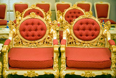 De stoelen van de luxe in ontvangstruimte Royalty-vrije Stock Foto