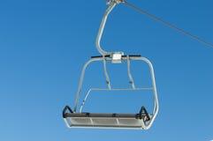 De stoelen van de skilift Royalty-vrije Stock Foto's