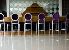De stoelen van de staaf Stock Afbeeldingen