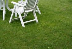 De stoelen van de tuin Royalty-vrije Stock Fotografie