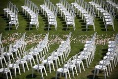 De stoelen van het huwelijk Royalty-vrije Stock Afbeeldingen