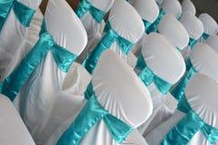 De stoelen van het huwelijk Stock Afbeeldingen