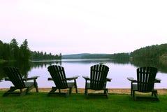 De stoelen van het meer Royalty-vrije Stock Foto's