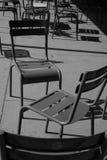 De stoelen van Luxemburg Royalty-vrije Stock Foto's