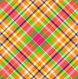 De Stof van de Plaid van het geruite Schotse wollen stof stock illustratie