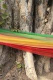 De stof van de tri-kleur in geloof Stock Foto