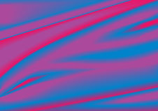 De stof van de zijde vector illustratie