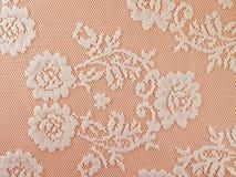De stof van het bloemenkant Royalty-vrije Stock Fotografie