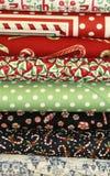De Stof van het Dekbed van Kerstmis Royalty-vrije Stock Foto