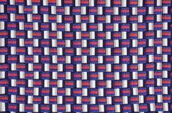 De stof van het geruite Schotse wollen stof Royalty-vrije Stock Afbeelding
