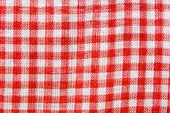 De stof van het geruite Schotse wollen stof Stock Fotografie