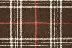 De stof van het geruite Schotse wollen stof Royalty-vrije Stock Afbeeldingen