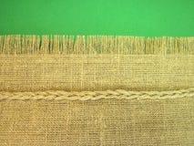 De stof van het linnen Royalty-vrije Stock Afbeeldingen