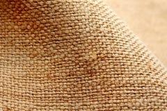 De stof van het linnen. Textuur royalty-vrije stock foto