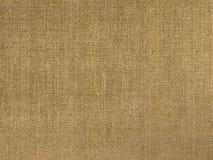 De stof van het linnen van ruwe vervaardiging. Stock Afbeelding