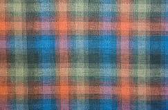 De stof van het Scottpatroon Royalty-vrije Stock Afbeelding