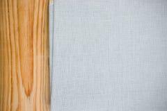 De stof van het textuurcanvas Royalty-vrije Stock Foto's