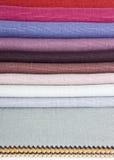 De stoffen van het linnen Royalty-vrije Stock Afbeeldingen