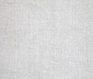 De stoffen van het linnen in wit Stock Afbeelding
