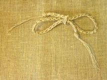 De stoffensamenvatting van het linnen Stock Afbeeldingen
