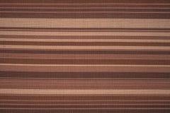 De stoffentextuur van de streep Stock Fotografie