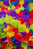 De stoffentextuur 2 van de Foldenkleur royalty-vrije stock foto