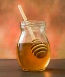 De Stok van de honing Stock Afbeeldingen