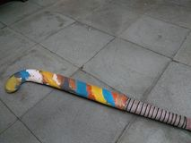 De stok van het kleurenhockey Stock Fotografie