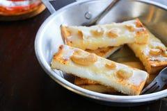 De stokken van het toostbrood Stock Foto