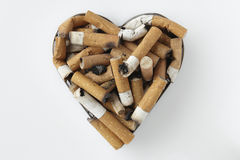 De stomp van de sigaret Stock Foto's