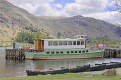 De Stoomboot van Ullswater royalty-vrije stock fotografie