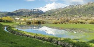De stoombootlentes, Colorado Stock Afbeelding