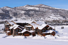 De stoombootlentes, Colorado Royalty-vrije Stock Foto