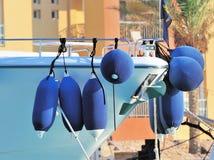 De stootkussens of de bumpers van de boot Royalty-vrije Stock Foto's
