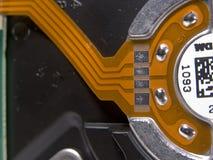 De Stootkussens van het contact op Flexibele Circu Stock Afbeeldingen