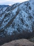 De stora bergen för steniga berg i Denver Colorado Royaltyfria Foton