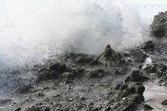 De Stormloop van de adrenaline Stock Foto's