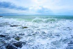 De stormloop van de Zwarte Zee Royalty-vrije Stock Afbeelding