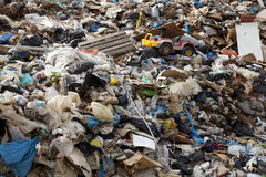De stortplaats van het vuilnis Royalty-vrije Stock Foto's