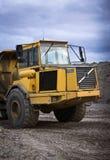 De stortplaatsVrachtwagen van de bouw stock foto's