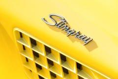 De straal van de het korvetsteek van Chevrolet Royalty-vrije Stock Afbeelding