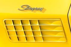 De straal van de het korvetsteek van Chevrolet Royalty-vrije Stock Foto