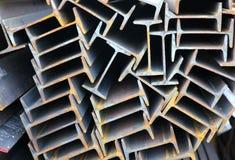 De straal van het metaalprofiel Stock Fotografie
