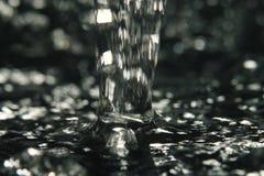 De straal van het textuurwater Royalty-vrije Stock Foto