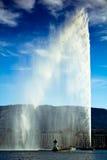 De straal van het Water van Genève Stock Foto