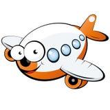 De straalvliegtuigen van het beeldverhaal Royalty-vrije Stock Foto