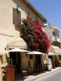 De straat in Cyprus Stock Afbeeldingen