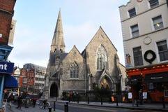De straat Dublin van heilige Andrew Royalty-vrije Stock Afbeeldingen